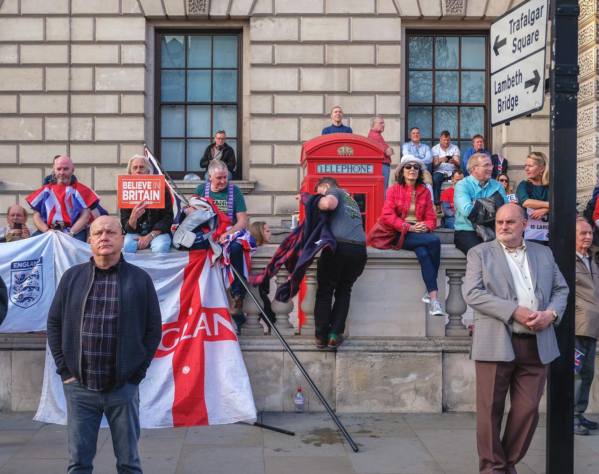 Rachel Groom Street Photography Parliament Square