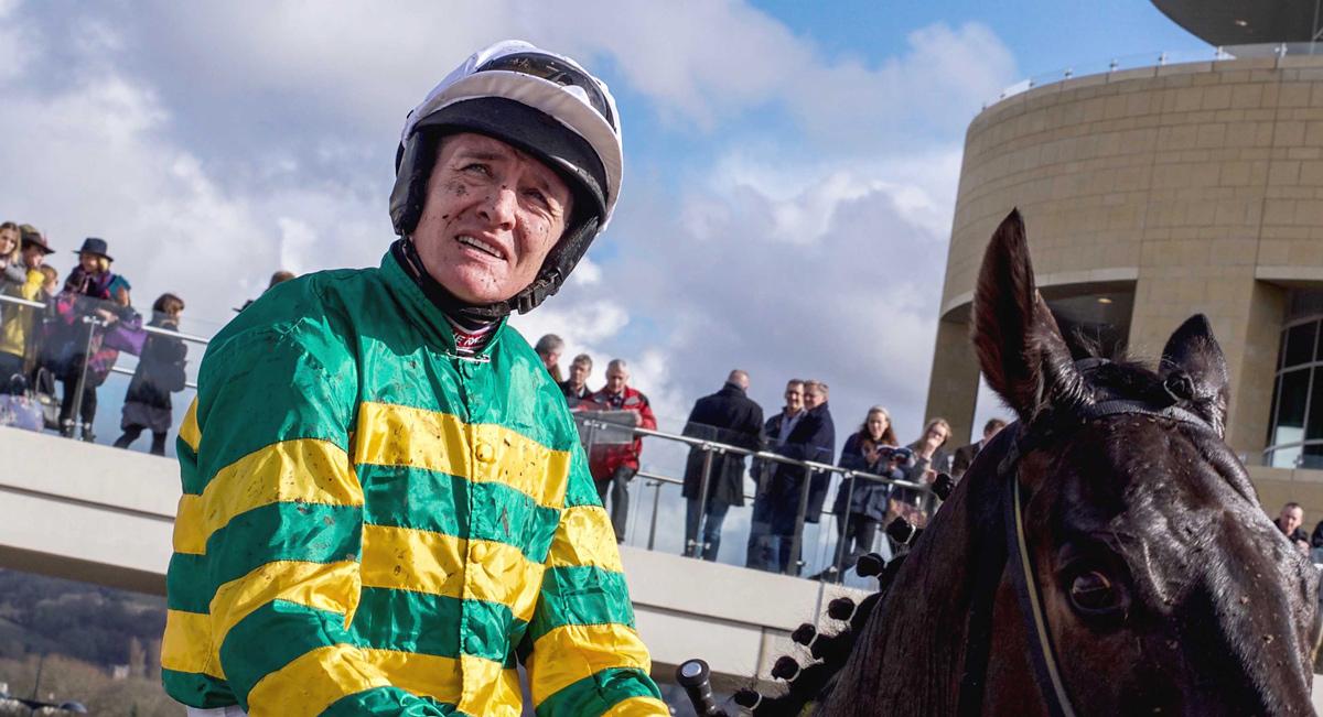 Barry Geraghty Jockey Cheltenham Racecourse